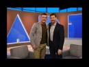 THURSDAY: Luke Evans and Olympic champ Tara Lipinski!