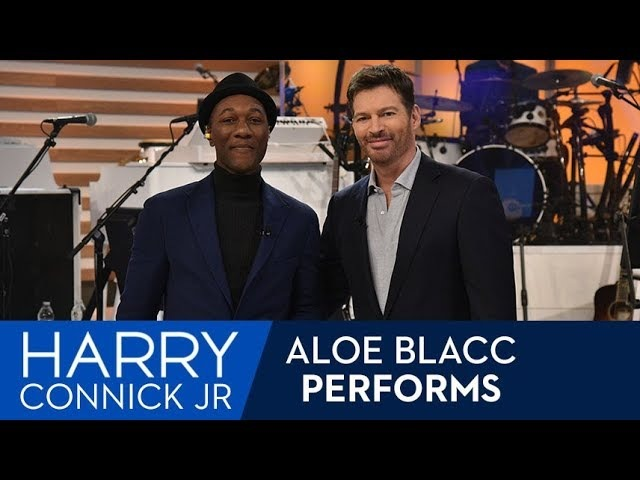 Aloe Blacc Performs What A Wonderful World
