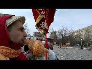 Харинама-Санкиртана. Волжский 17.02.18. (1)