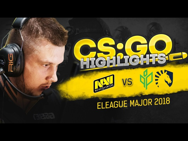 CSGO Highlights: NAVI vs Liquid, Sprout @ ELEAGUE Major 2018