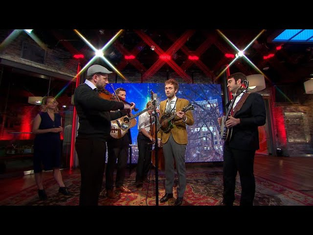 Saturday Sessions: Punch Brothers perform Fairytale of New York