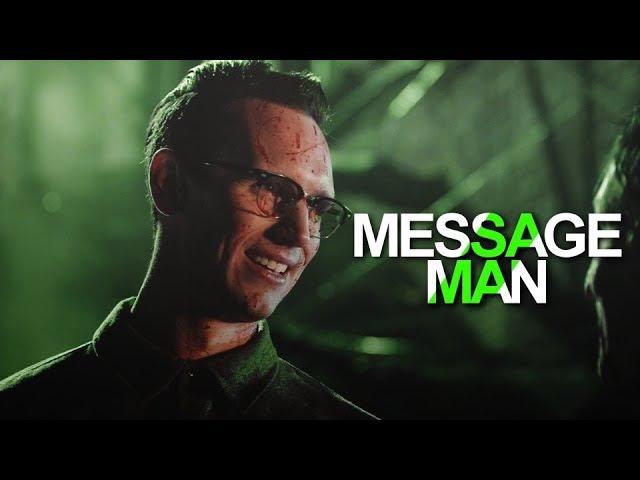 Ed Nygma | Message Man