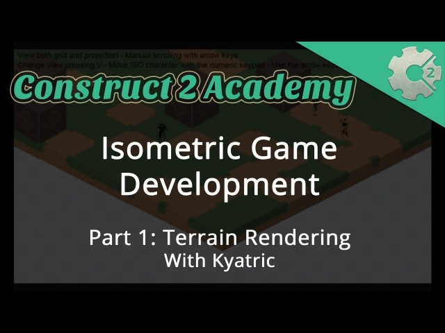 Isometric Game Development Part 1: Terrain Rendering - with Kyatric