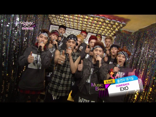 EXO 엑소_Comeback Interview_KBS MUSIC BANK_2013.05.31
