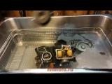 ультразвуковая чистка карбюраторов мотоцикла Honda bros