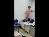Голая женщина в отделении томского банка