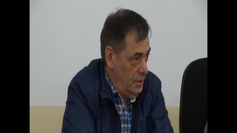 Юнус Султанович Хаутиев и Мурод Усманов. г.Волхов. Караван дружбы.