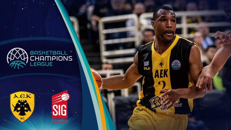 AEK v SIG Strasbourg - Full Game - Quarter-Final - Basketball Champions League 2017-18