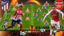 ATLETICO MADRID vs ARSENAL Preview, Lineup Predicted 3/5/2018 Semi Final Europa League [HD]