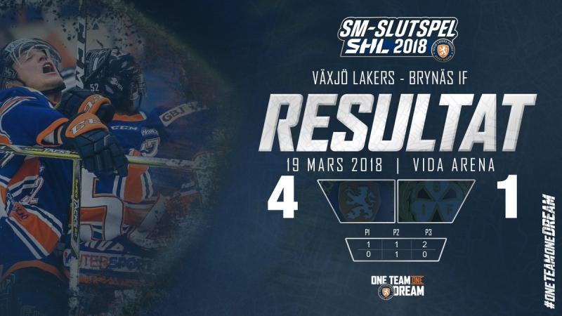 SHL - Slutspel - Växjö Lakers - Brynäs IF 2018-03-18