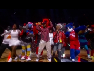 N.E.R.D 2018 NBA All-Star Halftime Performance - Pharrell  Migos!!!
