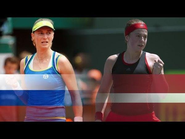 Кубок Федераций 2018 Екатерина Макарова (Россия) vs Алена Остапенко (Латвия)