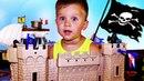 ★ ПИРАТЫ Корабль и Замок Коврик-Остров Baby Great «Приключения пиратов» Pirates unboxing new toys