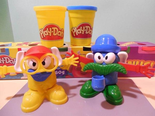 Play doh toys Mr Potato hasbro пластилин плей до Clay Plasticine Plastilina Plastiline مادة