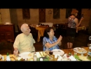Танец юбиляров, мамы и папы. Бриллиантовый юбилей родителей 29 июня 2016 года в ресторане Ага, город Тбилиси