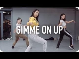 1Million dance studio Gimme On Up - Ariana Grande (ft. Nicki Minaj) / Mina Myoung Choreography