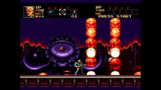 Contra Super Hard Corps - Level 1 Almost finished