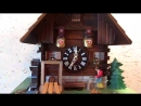 Настенные часы с кукушкой Lötscher