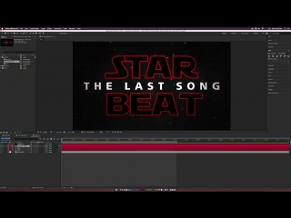 Creating a Star Wars-Inspired Title Sequence