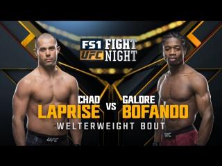 UFC FIGHT NIGHT WINNIPEG Chad Laprise vs Galore Bofando