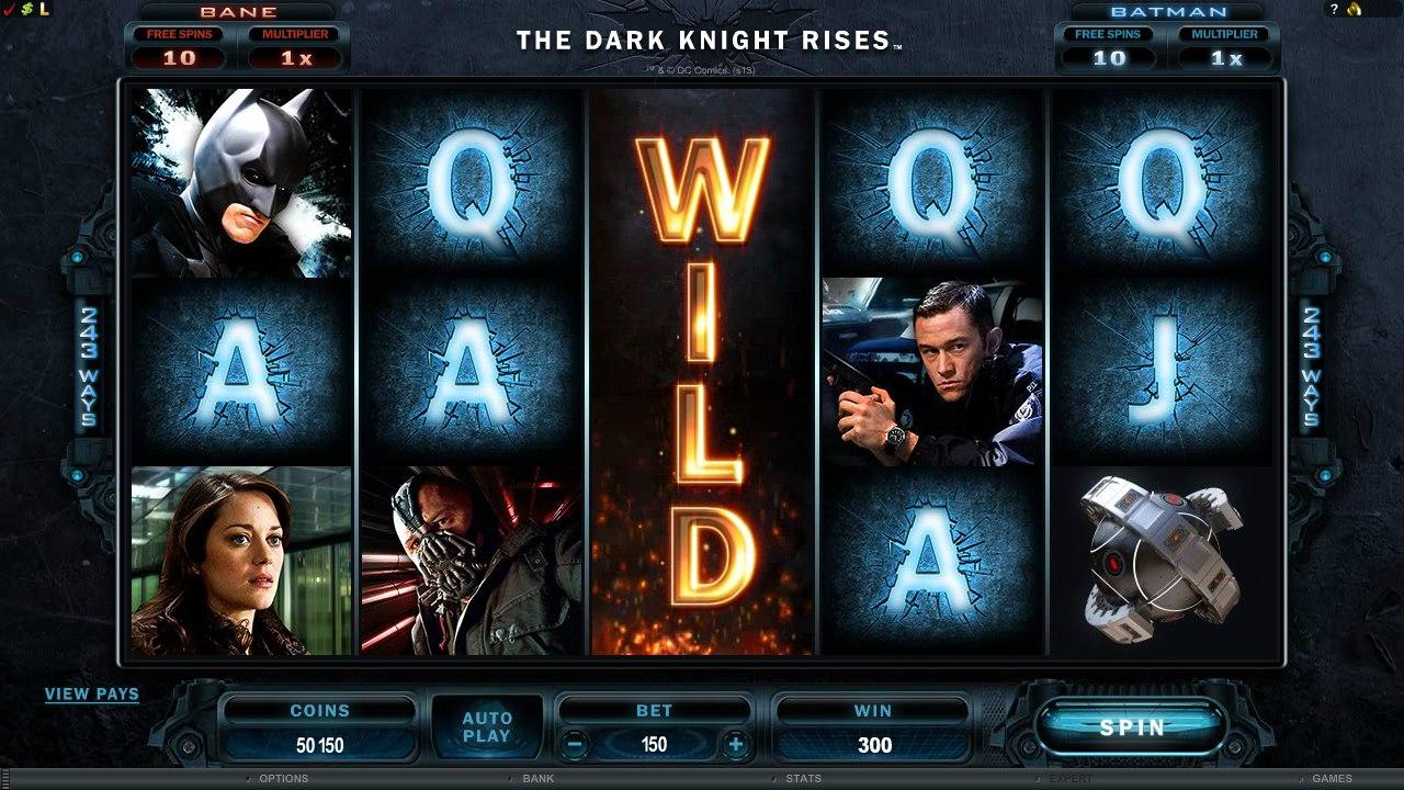Новости казино онлайн : что случилось с слотами темного рыцаря.