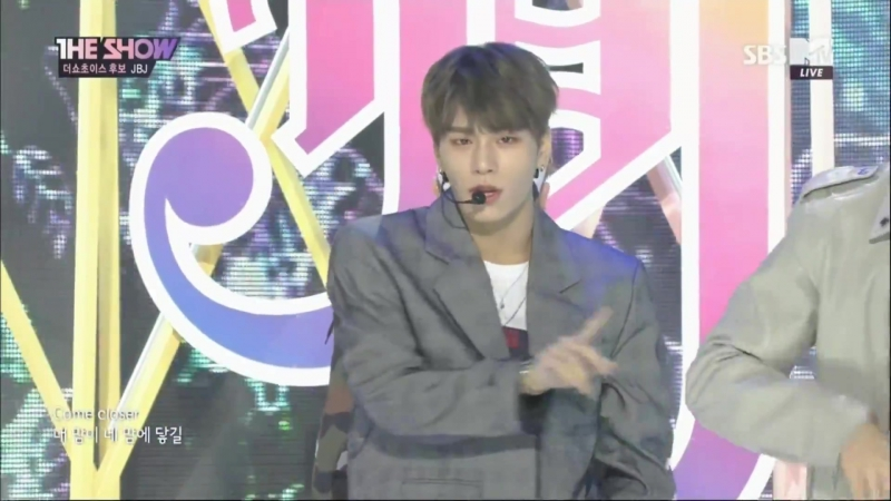 180123 JBJ - Everyday My Flower @ SBS MTV The Show Comeback Stage