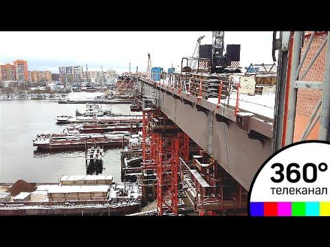 В Дубне завершился основной этап строительства моста через реку Волгу