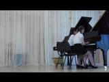 гитара, ансамбль фортепиано