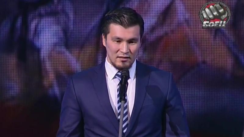 Золотой пояс - 2015: Дармен Садвокасов - лауреат в номинации Лучший спортсмен года