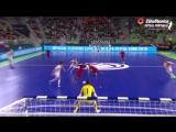 ЕВРО-2018. ФИНАЛ. Португалия v Испания. 1:0. Рикардинью открывает счет в матче на первой минуте.