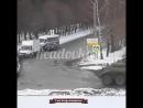 Колонна боевых машин проехала по Смоленску