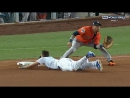 World Series 2017. Houston Astros at Los Angeles Dodgers. Game 7