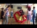 Живая открытка - сюрприз-поздравление от ростовой куклы Цыганка. Праздничное агентство КОЛИБРИ г.Выкса