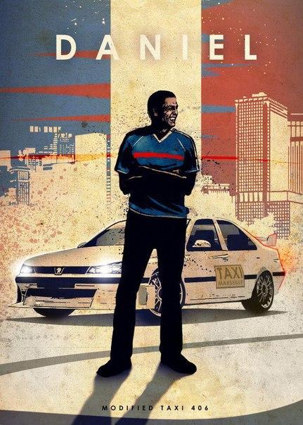 Киногерои и их легендарные автомобили Художник Eden Design выпустил серию работ под названием Car Legends. В иллюстрациях он изобразил известных киногероев и их автомобили, которые так же