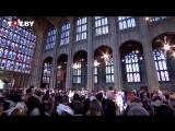Меган Маркл приехала на свадебную церемонию с принцем Гарри