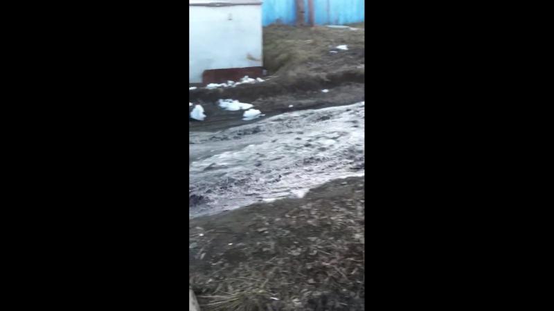 Потоп на 5 кирпичном 17.04.2018 (1 раздольный пер ч2)