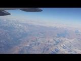 Горы Узбекистана с борта самолёта. Часть 3