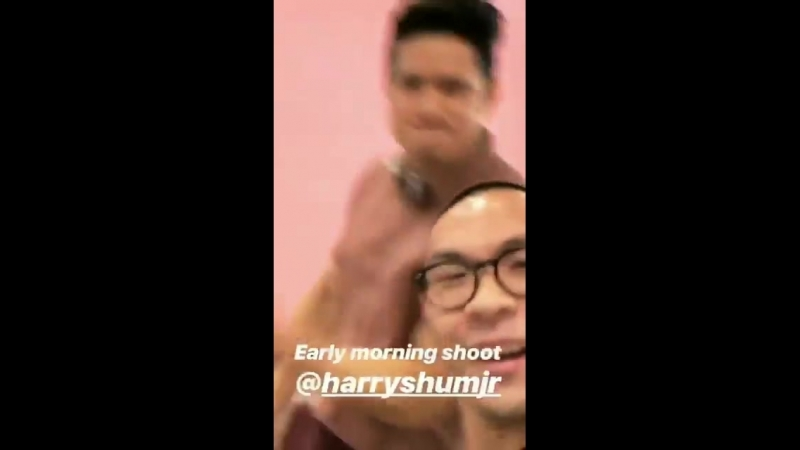 We get the feeling @HarryShumJr makes every work day feel like the weekend Look at those moves via tylerjoe IG Story