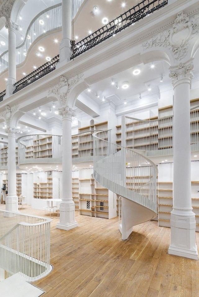 Fantastic Bookstore in Romania / Admont Abbey