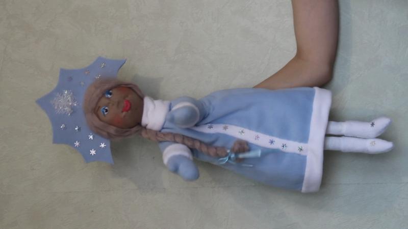 Кукла Снегурочка для кукольного театра