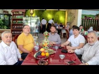 Ринат Якупов и Дамир Серажетдинов в гостях у Исмагила Шангареева