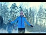 Новосибирцы пробежались в мороз по Академгородку