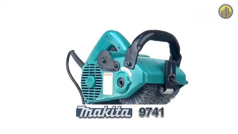 Щеточная шлифмашина Makita 9741