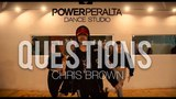 Chris Brown Questions Coreograf