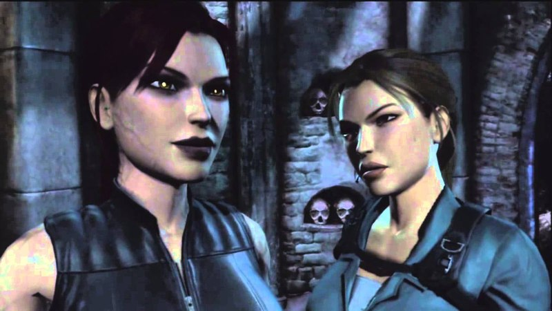 Tomb Raider 8 (2009) - Laras Shadow Cutscene (05) - Natla Suffers