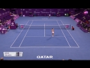 2018 Qatar Total Open Second Round Caroline Garcia vs Dominika Cibulkova WTA Highlights