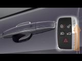 Range Rover 13 модельного года_ резервный механический ключ
