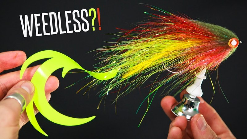 How to Tie a WEEDLESS Pike Fly! - Tie TV - Niklaus Bauer