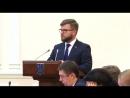 В.о. голови правління ПАТ «Укрзалізниця» на засіданні Уряду розповів про розвиток залізничних пасажирських перевезень.