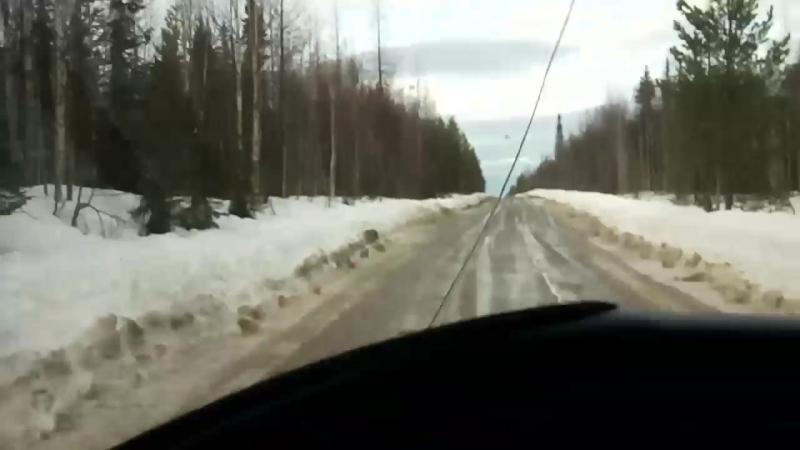 Вот он зимник первый)